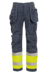 FR Craftsman Trousers, Color: 94 yellow/navy