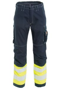 Non-metal FR Trousers, Color: 94 yellow/navy