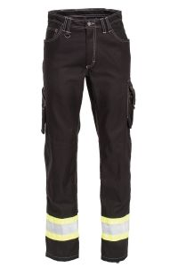 Work Jeans, Color: 95 black/yellow